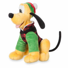 DISNEY Pluto the Dog Holiday Plush Mini Bean Bag 9 inch ~ NEW ~ Ships Fast