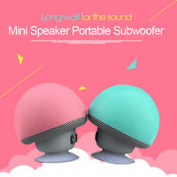 Waterproof Universal Wireless Mini Bluetooth Mushroom Portable Stereo Speaker