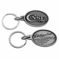 Case XX Dual Logo Pewter Key Chain 50126