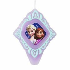 DISNEY'S FROZEN with ANNA and ELSA BIRTHDAY CANDLE