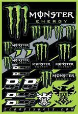DCOR Decal Sheet, Monster Energy Sticker Sheet 40-90-102