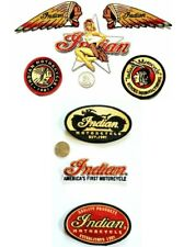 Indian Motorcycle patches Kings Mountain Era (FREE shipping) BUNDLE OF 8