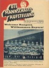 * 1967 CUP WINNERS CUP FINAL - RANGERS v BAYERN MUNICH  *