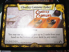 HP TCG GAME CARD CHAMBER OF SECRETS CHUDLEY CANNONS ROBES 97/140 COM MINT EN
