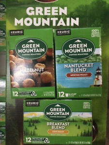 Green Mountain Coffee Keurig 12 Ct K-Cups - Choose Flavor - BUY MORE & SAVE 10%