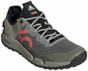 Five Ten Women's Trailcross LT Flat Shoes | Legacy Green/Signal Coral/Black | 9