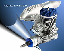 15GX2 Benzinmotor mit Pumpenvergaser v. Evolution/ Günther Modellsport EVOE15GX2