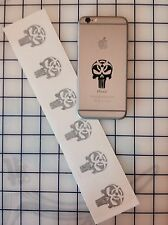 6 BIO NUCLEAR PUNISHER AMERICAN FLAG SNIPER SKULL CELL PHONE iPOD DECAL STICKER