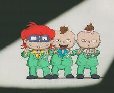 Rugrats Prod Cel #A3 Klasky Csupo 1991+ Chuckie, Twins Phil Lil - Nickelodeon