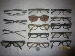 Mix Lot of 14 Oakley-Persol-D&G Eyeglasses Tincup-Ratchet-halfshock-Gasket BIKER