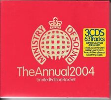 COFFRET 3 CD COMPIL 63 TITRES--MINISTRY OF SOUND 2004--SINCLAR/MOLOKO/IIO/PUSH..