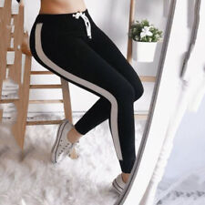 Damen Sporthose Stretch Leggings Fitness Jogginghose Gym Leggins Freitzeithose