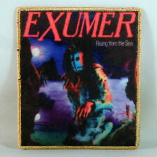 EXUMER Rising From The Sea (YELLOW Border Printed Small Patch) (NEW)