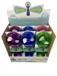 Portable Water Bottle Mister Spray Cooling Fan Handheld (BATTERY INCLUDE)