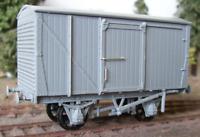 "Cambrian C102 OO Gauge LMS 12ton Van Kit (Unventilated, ""Steel ends"") (D1663)"