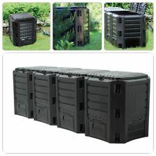 Komposter Gartenkomposter Kompostierer Kompostbehälter Schnellkomposter 1600 Ltr
