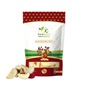 Pawfect Freeze Dried Delicious Fresh Apple Treats 40g