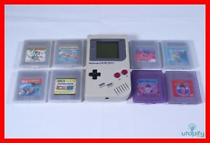 🎮 Nintendo Gameboy (DMG-01) & 8 Spiele | Classic | TOP Zustand🎮