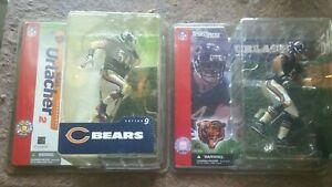 Brian Urlacher Chicago Bears SET NFL McFarlane football 2001 & 2004 NIB NEW