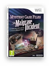Mystery Case Files: The Malgrave Incident Nintendo Wii PAL Brand New
