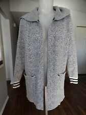 BENCH Striking Cardigan White snow Hooded small