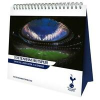 Tottenham Hotspur Football Club Desk Easel 2020 Calendar Page-a-Month Tent Spurs