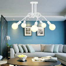 Modern Pendant Light Fitting Art Decor White Ceiling Lamp Bar Vintage Chandelier
