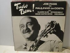 JOE  PASS & PAULINHO DA COSTA Tudo Bem ! free UK post