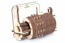 UGears Combination Lock Mechanical 3D Wood Puzzle