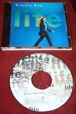 SIMPLY RED Life 1995 GERMANY CD wie NEU! Soul Brit-Pop FAIRGROUND Mick Hucknall