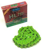 """KMC HL710L Pintle HL1L Half Link Bike Chain 1/2 X 1/8"""" BMX Single GREEN"""