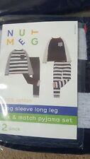 Mezclar y combinar Pijama Conjunto Talla 5-6 Años BNWT