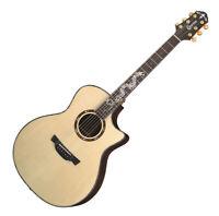 "Crafter KDG-1000 Prestige Grand Auditorium Natural Gloss 25.5"" Acoustic Guitar"