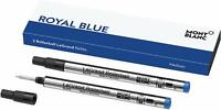MONTBLANC Pacific Blue Pack of 2 Medium Point Rollerball Refills for LeGrand 162