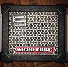 ROLAND MICRO CUBE 2 Watt Electric Acoustic Guitar Amplifier W/AC Power Supply