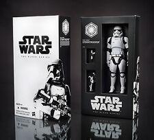 "Star Wars 2015 Black Series 6"" SDCC Exclusive First Order Stormtrooper Figure"