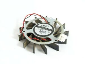 Adda 2Pin 55mm Radial Nvidia Geforce 7800GT Graphics Cards Fan AD4512HB-E01