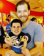 Claude Giroux Philadelphia Flyers Holding baby Sidney Crosby Photo- select size