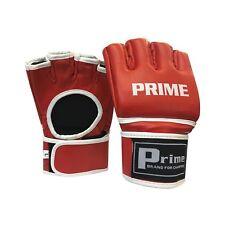 Prime Mma UFC Grappling Guanti Gabbia Lotta Kick Boxing Muay Thai Punch Bag Red2