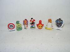 7 Porzellan-Figuren-Kinderzimmer-Spielzeugladen-Laden-Puppenhaus-Puppenstube