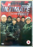 Ultimate Force Season 3 DVD Box Set British War TV Series w/ Ross Kemp 2-Discs