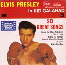 "ELVIS PRESLEY - Kid Galahad  EP 7"" 45"
