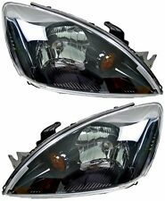 Pair Headlights Mitsubishi Lancer CH 08/03-08/07 New Head Lamps VRX 04 05 06
