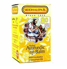 Herbal ayurvedic Siddhalepa Balm 100g - relief from headaches,muscle pains
