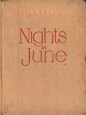 Nights in June - HC 1952 - Petru Dumitriu - Romanian Communist Literature