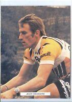 CP - Carte Postale - Equipe Renault Gitane - Jean Chassang - Cyclisme