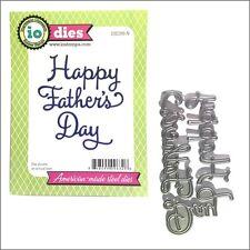Happy Father's Day metal die Impression Obsession cutting Dies DIE298-N words