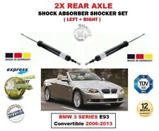 FOR BMW 3 SERIES E93 Convertible 2006-2013 2X REAR LEFT RIGHT SHOCK ABSORBERS