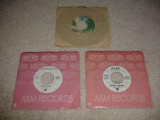 Lot of 3 45 RPM Records - Rod Stewart,Joe Cocker,Jeffrey Osborne EX/NM Condition
