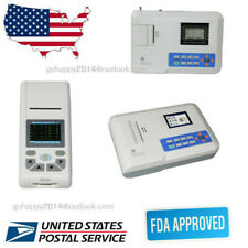 Usa Portable 1312 Channels 12 Leads Ecg Machine Electrocardiograph Software